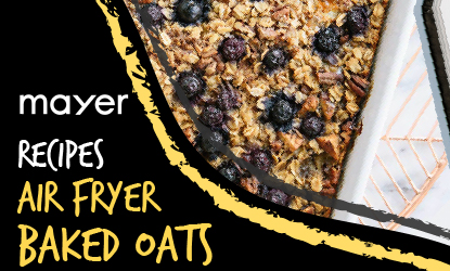 Baked Oats recipe! Try it on your MMAF3000