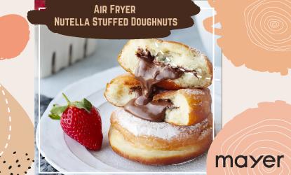 Nutella Stuffed Doughnut recipe